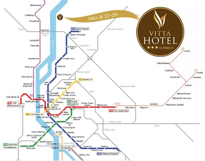 budapest hotel térkép Contact   Vitta Hotel Superior Budapest budapest hotel térkép